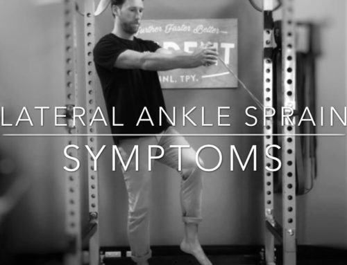 Lateral Ankle Sprains